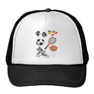 sport-accesories trucker hats