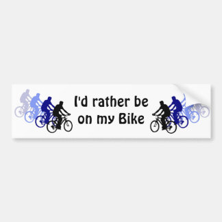 Sport - Biking, Cycling, Bike Bumper Sticker