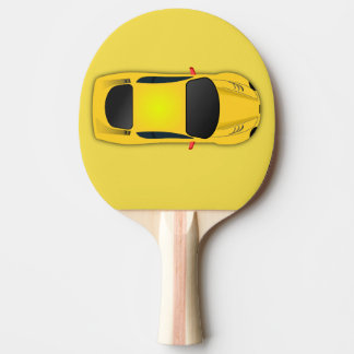 sport car ping pong paddle