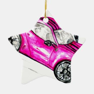 Sport Car Sketch2 Ceramic Ornament