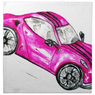Sport Car Sketch2 Napkin