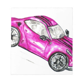 Sport Car Sketch2 Notepad
