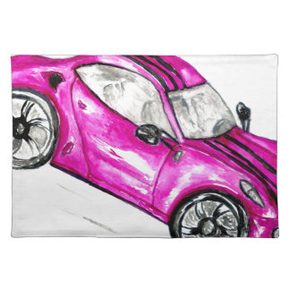 Sport Car Sketch2 Placemat