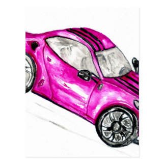 Sport Car Sketch2 Postcard