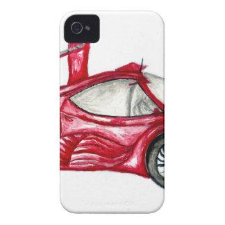 Sport Car Sketch iPhone 4 Cover
