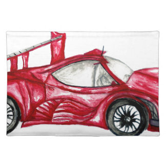 Sport Car Sketch Placemat