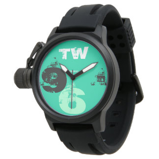 Sport clock Man 96 Green Is Watch