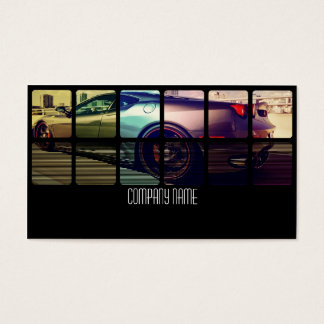 Sport Exotic Car in  Different Colors Business Card