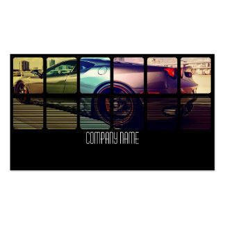 Sport Exotic Car in  Different Colors Pack Of Standard Business Cards