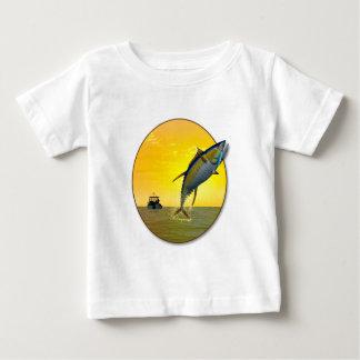 Sport Fishing at Dawn Baby T-Shirt