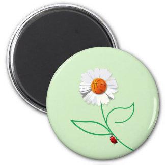 Sport flower magnet