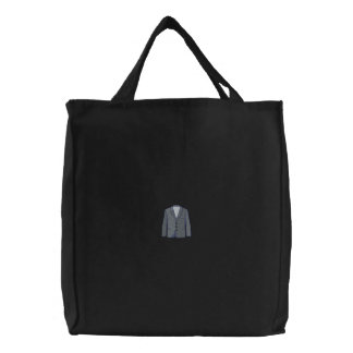 Sport Jacket Embroidered Tote Bags