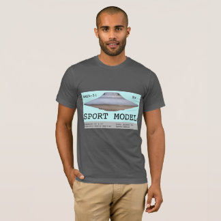Sport Model saucer from Area-51/S4 T-Shirt