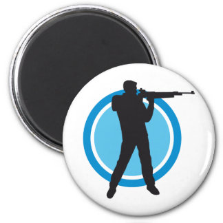 sport more shooter 6 cm round magnet