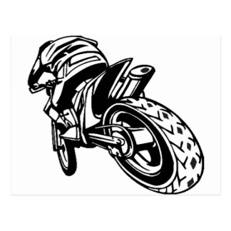Sport Motorcycle Race Postcards