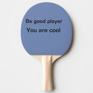 Sport players ping pong paddle