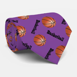 Sport Purple Background 2 | Basketball Tie