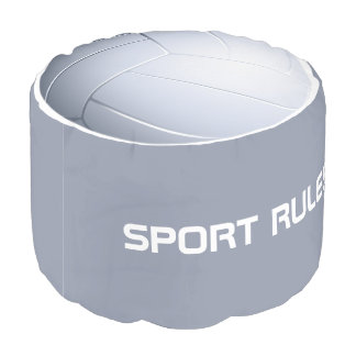 SPORT RULES! Volleyball Pouf