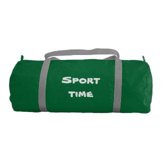 sport stock market gym duffel bag