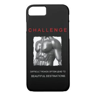 sport success motivational challenge quote iPhone 7 case