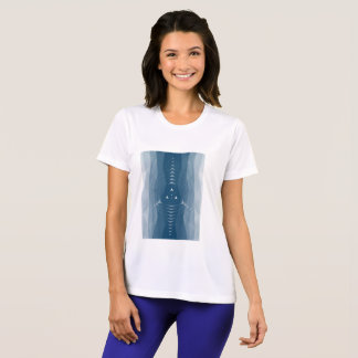 Sport-Tek Competitor Geometric performance womens T-Shirt