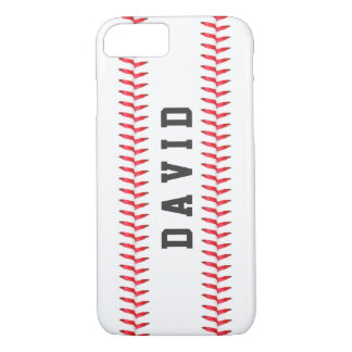 Sport Theme Baseball Stitching All Star Name iPhone 7 Case
