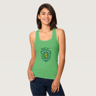 Sporting female supporter singlet