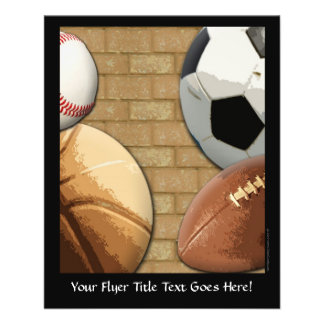 Sports Al-Star, Basketball/Soccer/Football Flyer