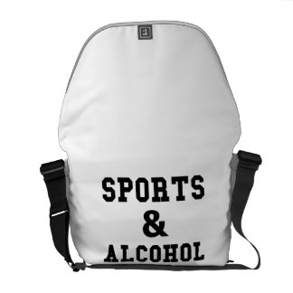 Sports And Alcohol Commuter Bag