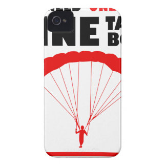 sports and skydive, Mine takes both iPhone 4 Case-Mate Case