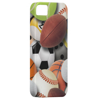 Sports Balls Collage iPhone 5 Cover