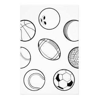 Sports Balls Set Stationery