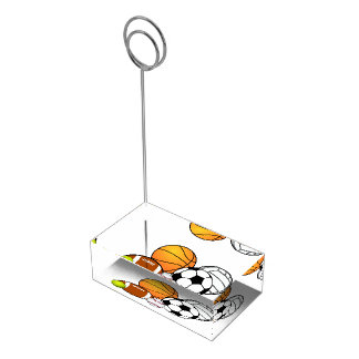 Sports Banquet Table Card Holder