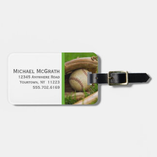 Sports - Baseball Luggage Tags