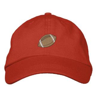 Sports Borders Football Embroidered Baseball Cap