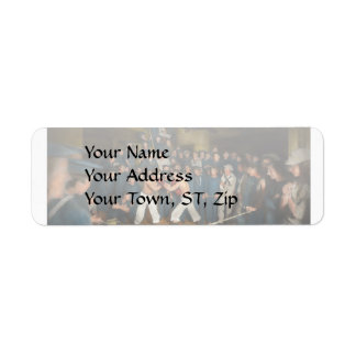 Sports - Boxing - The Second round 1896 Return Address Label