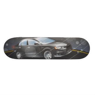Sports Car 21.6 Cm Skateboard Deck