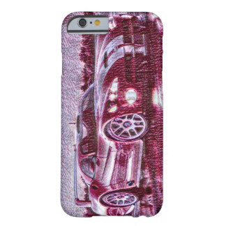 Sports Car Acrylic Sketch Barely There iPhone 6 Case