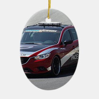 Sports Car Auto Racing Ceramic Ornament