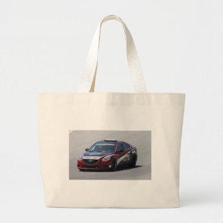 Sports Car Auto Racing Large Tote Bag