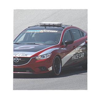 Sports Car Auto Racing Notepad