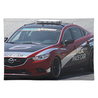 Sports Car Auto Racing Placemat
