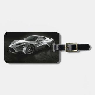 Sports Car Bag Tag