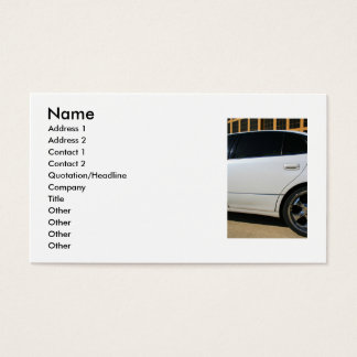 Sports Car Business Card