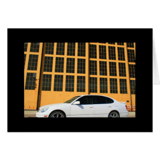 Sports Car Greeting Card and Note Card