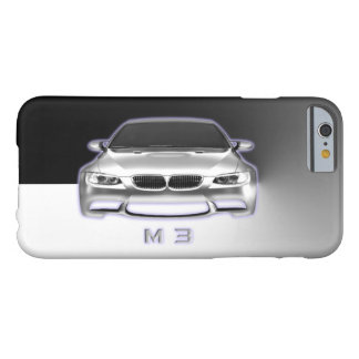 Sports Car on Stainless Steel Metal Background Barely There iPhone 6 Case