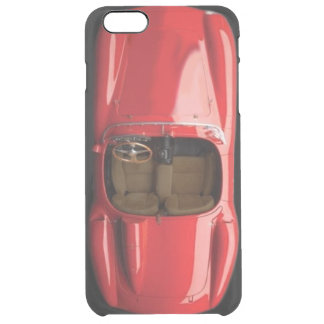 Sports Car Red iPhone 6/6S Plus Clear Case