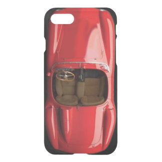 Sports Car Red iPhone 7 Clear Case