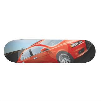 Sports Car Custom Skate Board