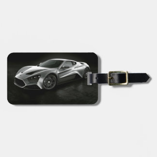 Sports Car Tags For Bags